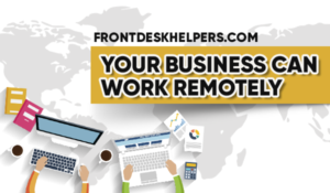 Front Desk Helpers virtual office call center services 24/7