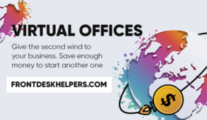 frontdeskhelpers virtual office remote call center outbound calls
