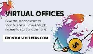 frontdeskhelpers virtual office remote call center outbound calls