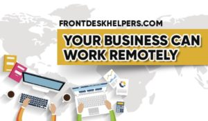 Remote work benefits: virtual 24/7 assistance