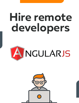 Here you can hire remote developers who are working on Angular technology