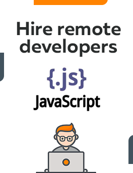 Here you can hire remote developers who are working on JavaScript
