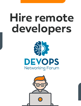 Here you can hire remote developers who are working on DevOps technology