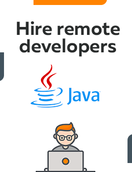 Here you can hire remote developers who are working on Java