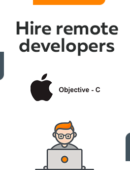 Here you can hire remote developers who are working on Objective - C