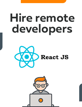 Here you can hire remote developers who are working on React JS technology