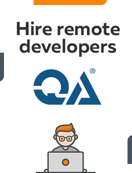 Here you can hire remote app developers who are working on QA technology