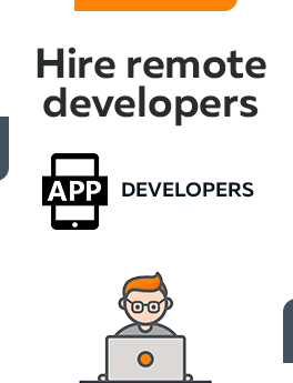 Here you can hire remote app developers