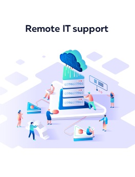 Remote technical IT support services: hire remote IT professionals here