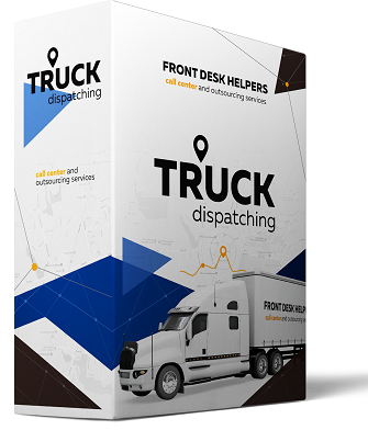 Example of a software box developed for truck dispatching needs by FDH company