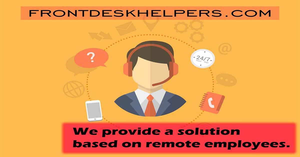 Delivery Management Software - Front Desk Helpers remote assistance