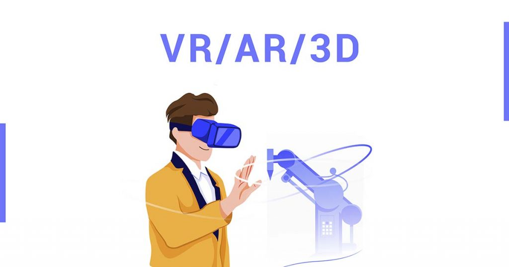 Time of Virtual and Augmented Reality. Technological VR / AR / 3D solutions for business.